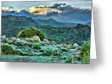 Rocky Mountain Sky Greeting Card