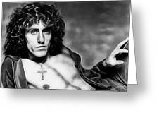 Roger Daltrey Collection Greeting Card
