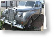 Rolls Royce Silver Wraith Greeting Card