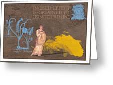 Roman Holiday V Greeting Card