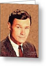 Ron Hayes, Vintage Actor Greeting Card