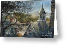 Rooftops Of Old Edwards Greeting Card