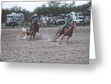 Roping Event 6 Greeting Card