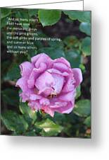 Rose-15 Greeting Card
