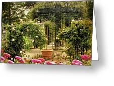 Rose Arbor Greeting Card