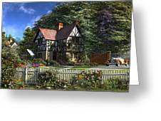 Roses House Greeting Card
