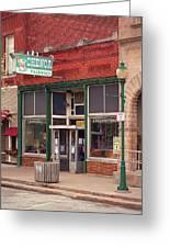 Route 66 - Chenoa Pharmacy Greeting Card