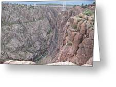 Royal Gorge Bridge Greeting Card