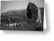 Ruins In The Burren County Clare Ireland Greeting Card