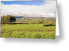 Rural Landscape Tanzania Greeting Card