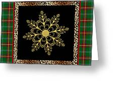 Rustic Snowflake-jp3695 Greeting Card