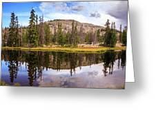 Ruth Lake Trail Greeting Card
