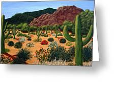 Saguaro Desert Greeting Card