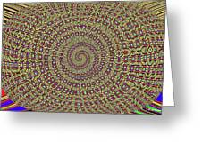 Saguaro Forest Abstract #2 Greeting Card