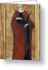 Saint Apollonia Greeting Card