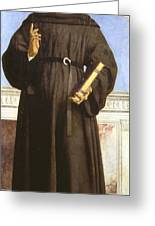 Saint Nicholas Of Tolentino Greeting Card