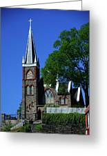 Saint Peter's Roman Catholic Church In Harpers Ferry Greeting Card