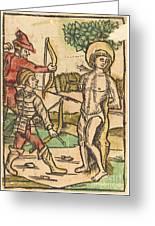 Saint Sebastian Greeting Card