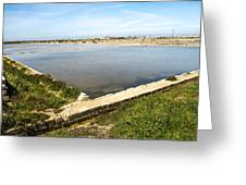 Salt Marshes - Trapani Salt Flats Greeting Card