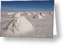Salt Production Greeting Card