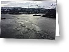 Saltstraumen View Greeting Card