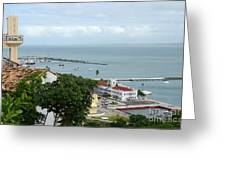 Salvador Da Bahia - Brazil Greeting Card