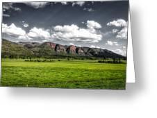 San Juan Mountains Of Colorado Greeting Card