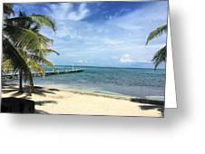 San Pedro Belize Greeting Card
