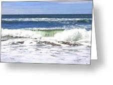 Sand And Sea 1 Greeting Card