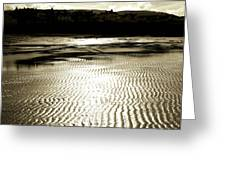 Sand Patterns. Greeting Card
