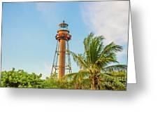 Sanibel Lighthouse Greeting Card