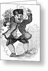 Santa Claus, 1849 Greeting Card