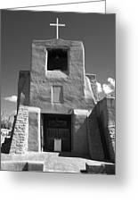Santa Fe - San Miguel Chapel Greeting Card