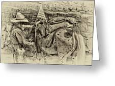 Santa Fe Cowboy Greeting Card