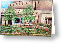 Santa Fe Welcome Greeting Card