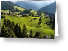 Santa Maddalena - Italy Greeting Card