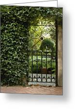 Savannah Gate Greeting Card
