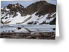 Sawtooth Lake Greeting Card