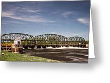 Schenectady Lock 8 Greeting Card