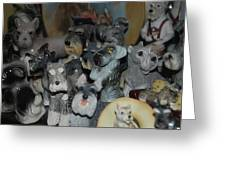 Schnauzers Greeting Card