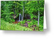 Scott Falls Greeting Card