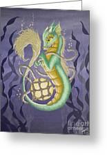 Sea Dragon II Greeting Card