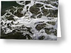 Seafoam Lace Greeting Card