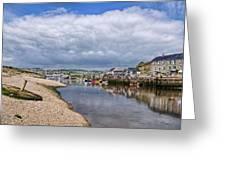 Seaton Harbour - Devon Greeting Card