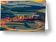 Seattle Swirl Greeting Card