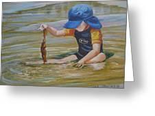 Seaweed Search Greeting Card