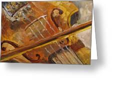 Secondhand Violin Greeting Card