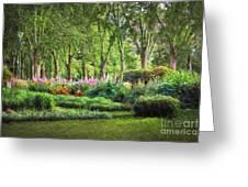 Secret Garden    Op Greeting Card