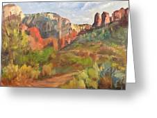 Sedona Afternoon Greeting Card
