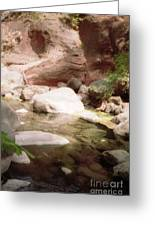Sedona River Rock Greeting Card